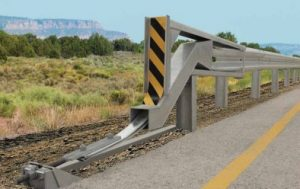 Softstop Highway Guardrail - DH Highway Services - Alberta