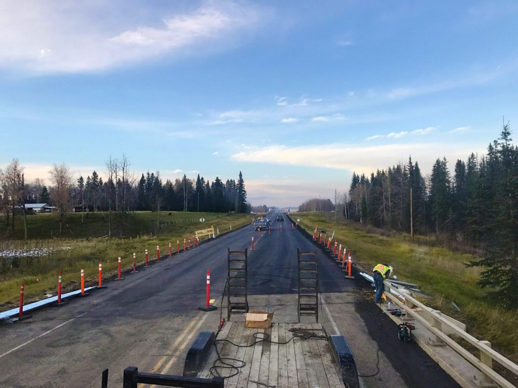 Highway Guardrail Construction